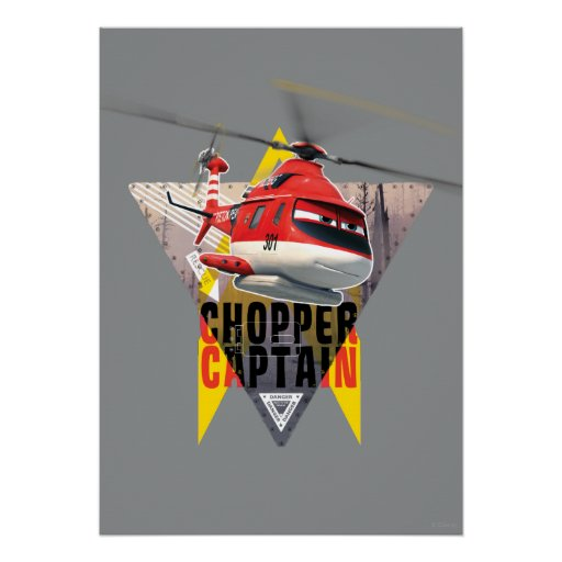 Blade Ranger Chopper Captain Print