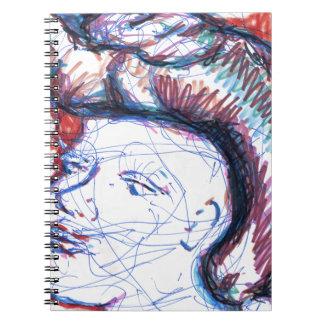Blade Runner Dreams Spiral Notebook