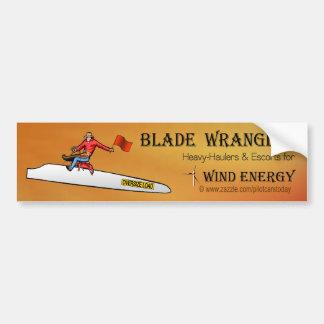 Blade Wrangler Bumper Sticker