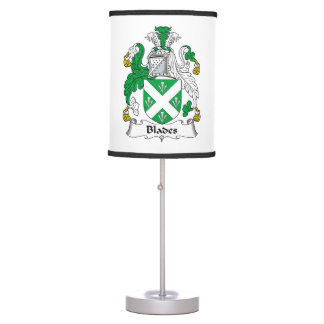 Blades Family Crest Table Lamp