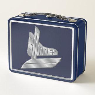 Blades Hockey Logo Metal Lunch Box