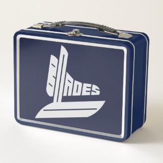 Blades Hockey Team Logo Metal Lunch Box