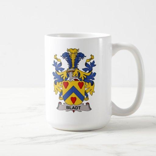 Bladt Family Crest Coffee Mug