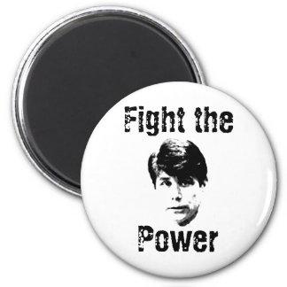 Blago-Fight the Power 2 Inch Round Magnet