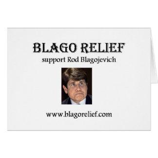 Blago Relief Card