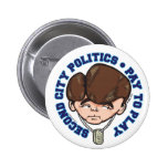 Blago the Auctioneer Pins
