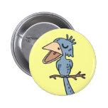 Blah Blah Bird Buttons