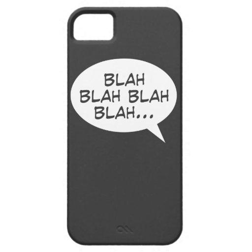 Blah blah blah blah... iPhone 5 covers