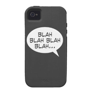 Blah blah blah blah Case-Mate iPhone 4 cover