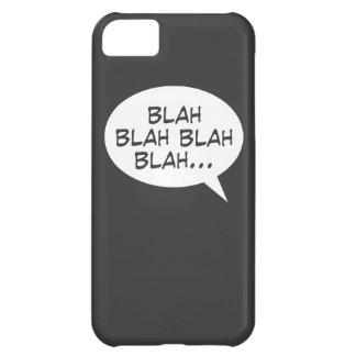 Blah blah blah blah... iPhone 5C cover