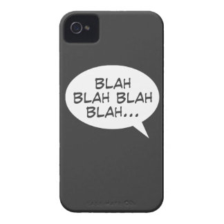 Blah blah blah blah... Case-Mate iPhone 4 cases