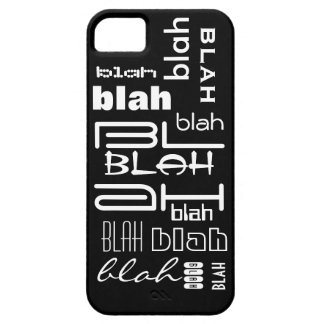 Blah blah blah iPhone 5 cases