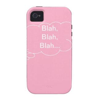 Blah Blah Blah iPhone 4 Case