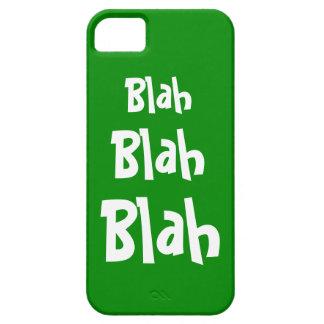 Blah Blah Blah Green iPhone 5 Case