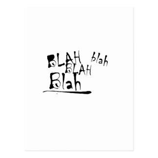 BLAH BLAH BLAH POSTCARDS