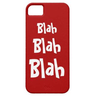 Blah Blah Blah Red iPhone 5 Case