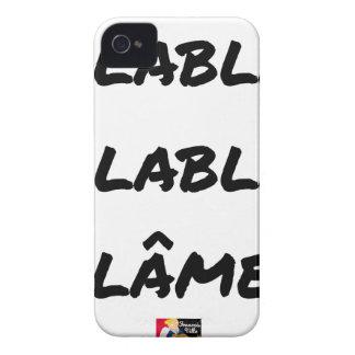 BLAH, BLAH, BLAME! - Word games Case-Mate iPhone 4 Case