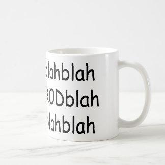 Blah Blah Hot Rod Blah Blah Coffee Mug