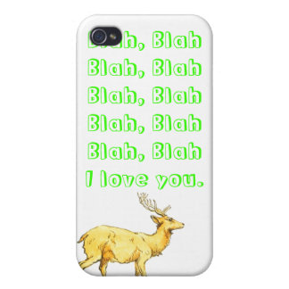 Blah, Blah I love you. Case For iPhone 4