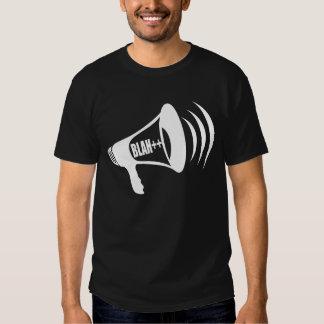 Blah++ Bullhorn T-Shirt