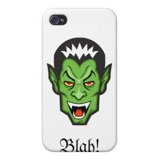 Blah Cover For iPhone 4