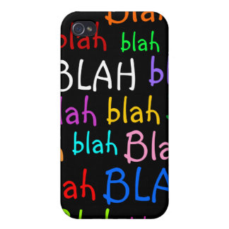 Blah Cases For iPhone 4