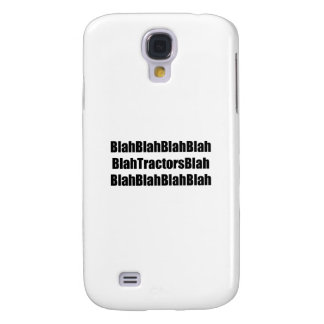 Blah Tractor Blah Tractor Gifts By Gear4gearheads Galaxy S4 Cover