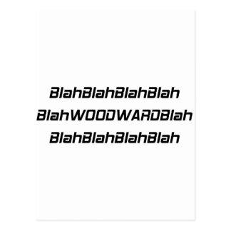 Blah Woodward Blah Postcards