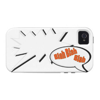 BlahBlahBlah. iPhone 4/4S Carcasas