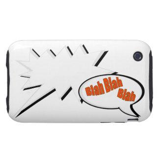 BlahBlahBlah. Tough iPhone 3 Carcasas