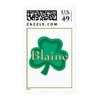 Blaine Irish Name Stamps