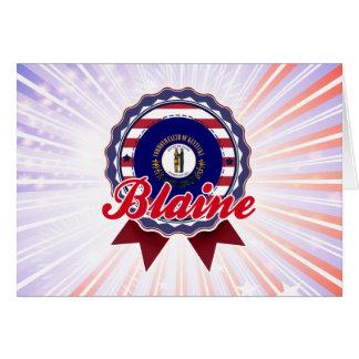 Blaine, KY Card