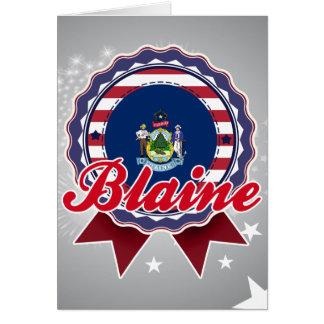 Blaine, ME Greeting Card