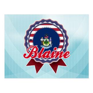 Blaine, ME Post Card