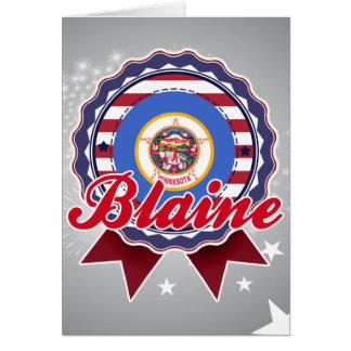 Blaine, MN Card