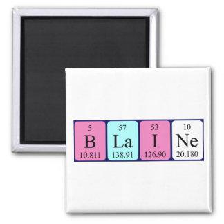 Blaine periodic table name magnet