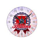 Blaine, TN Round Wallclocks
