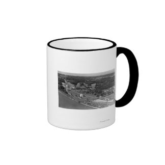 Blaine, WA Birds Eye View and Int. Peace Arch Mugs