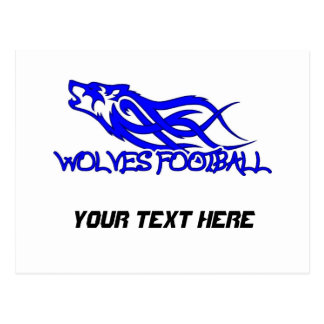 Blaine Wolves Postcard