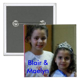 blair and maelyn, Blair & Maelyn Button