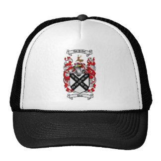BLAIR FAMILY CREST -  BLAIR COAT OF ARMS TRUCKER HAT