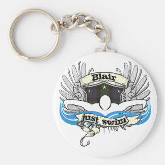 Blair Just Swim Keychain