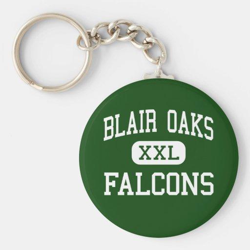 Blair Oaks - Falcons - High - Jefferson City Keychain