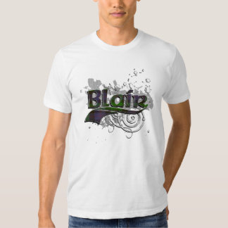 Blair Tartan Grunge Tee Shirt