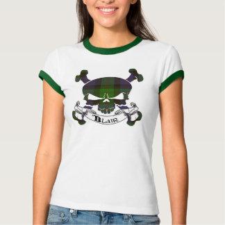 Blair Tartan Skull Shirt