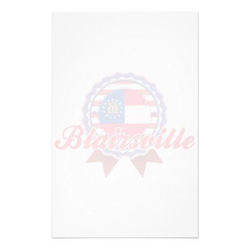Blairsville, GA Stationery Paper