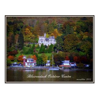 Blairvadach  Outdoor Centre Postcard