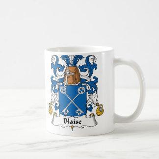 Blaise Family Crest Coffee Mug