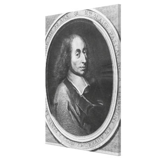 Blaise Pascal Impresiones En Lona