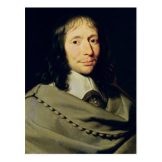 Blaise Pascal Postcard
